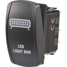 Narva Rocker Switch - Off / On, LED, LED light Bar, , scaau_hi-res