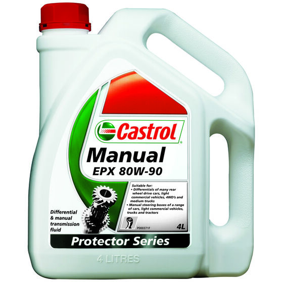Castrol EPX Differential & Manual Transmission Fluid - 80W-90, 4 Litre, , scaau_hi-res