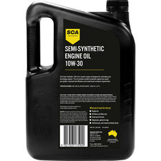 SCA Semi Synthetic Engine Oil 10W-30 5 Litre, , scaau_hi-res