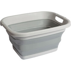Ridge Ryder Collapsible Storage Tub - 17 Litre, , scaau_hi-res