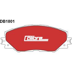 Calibre Disc Brake Pads DB1801CAL, , scaau_hi-res