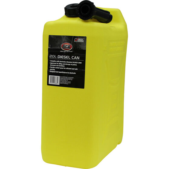 SCA Diesel Jerry Can - 20 Litre, , scaau_hi-res
