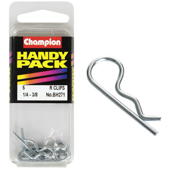 Champion R Clips - 1 / 4-3 / 8inch, BH271, Handy Pack, , scaau_hi-res