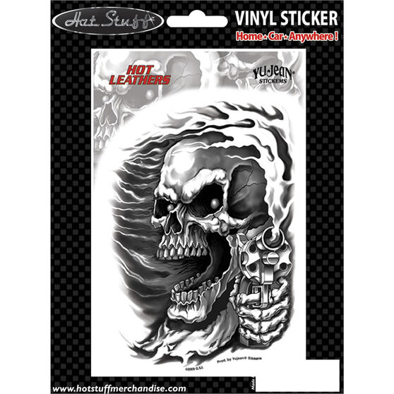 Hot Stuff Sticker - Assassin Biker, Vinyl, , scaau_hi-res