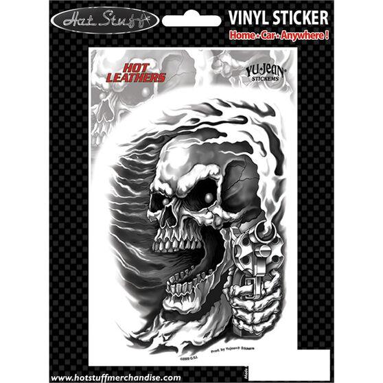 Hot Stuff Sticker - Assassin Biker, Vinyl, , scaau_hi-res