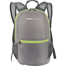 Cabin Crew Glovebox Backpack - 12L Grey/Green, , scaau_hi-res