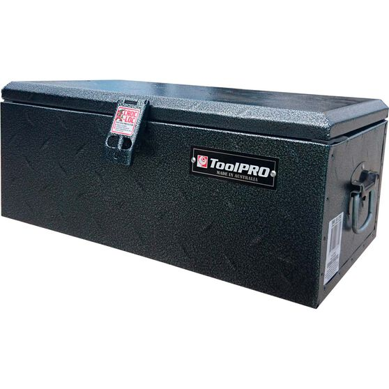 ToolPRO Outback Tool Box - Galvanised Steel, 60 Litre, , scaau_hi-res