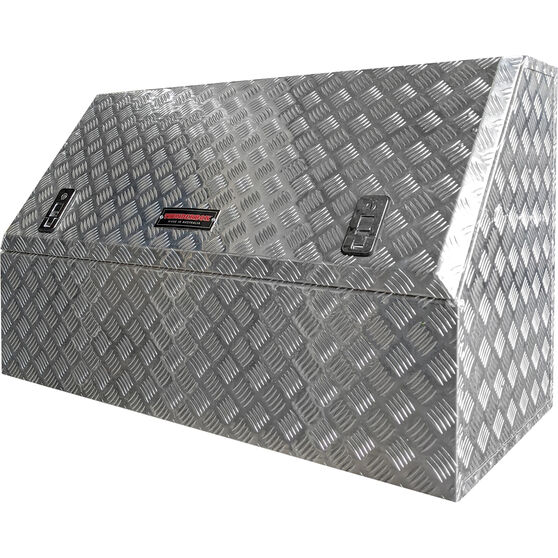 Thunderbox Aluminium Checker plate High side Tool Box, , scaau_hi-res