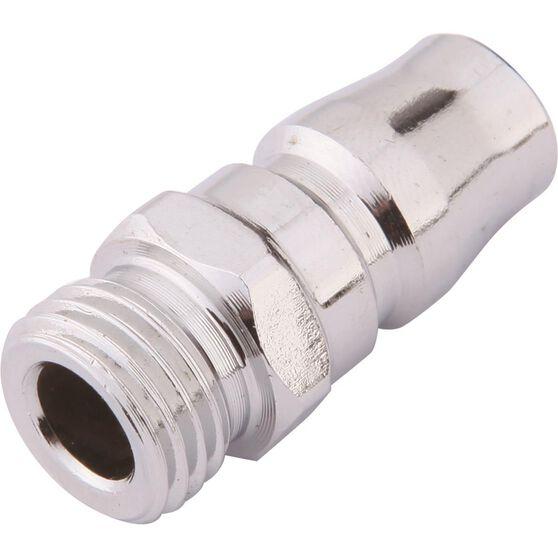 """Blackridge Air Fitting Nipple Male Plug 1/4"""", , scaau_hi-res"""