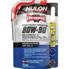 Nulon EZY-SQUEEZE Gearbox & Differential Oil 80W-90 1 Litre, , scaau_hi-res