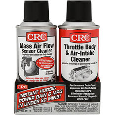 CRC Mass Air Flow Sensor & Throttle Body Cleaner Twin Pack - 05111, , scaau_hi-res