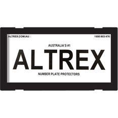 Altrex Motorbike Number Plate Protector - No Lines, 9DMBNL, , scaau_hi-res