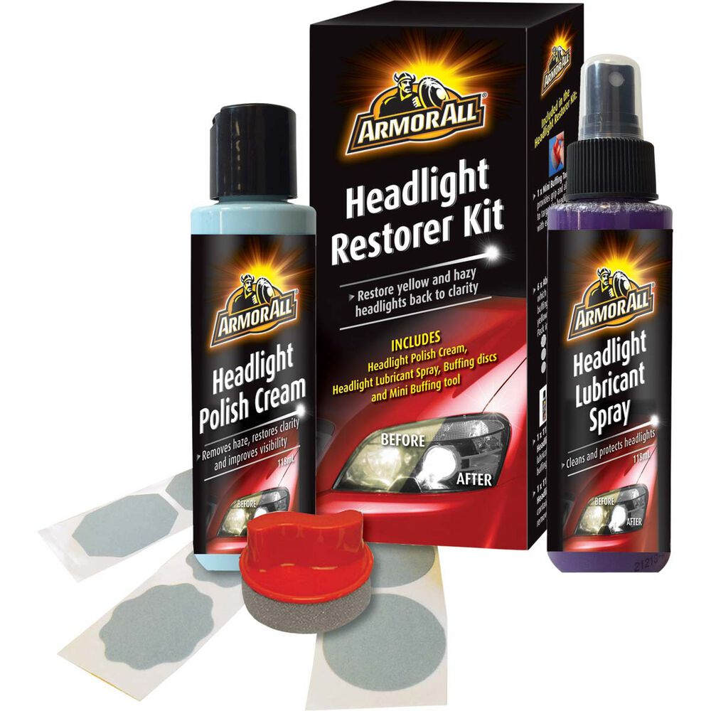 armor all headlight restorer kit supercheap auto. Black Bedroom Furniture Sets. Home Design Ideas
