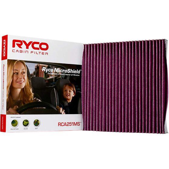 Ryco Cabin Air Filter Microshield - RCA251MS, , scaau_hi-res
