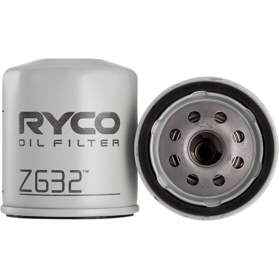 Ryco Oil Filter - Z632, , scaau_hi-res