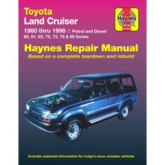 Haynes Car Manual For Toyota Landcruiser Petrol and Diesel 1980-1998 - 92751, , scaau_hi-res