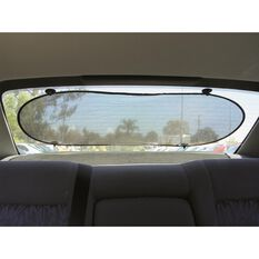 SCA Rear Sunshade - Rear, Mesh, Black, Single, , scaau_hi-res