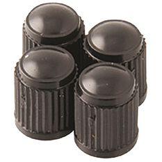 282216f8296 SCA Valve Caps - Standard Black