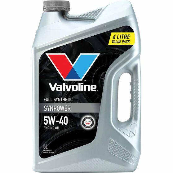 Valvoline Synpower Engine Oil 5W-40 6 Litre, , scaau_hi-res