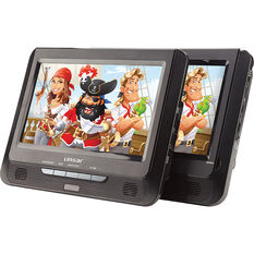 "9"" Dual Screen Portable DVD Player, , scaau_hi-res"
