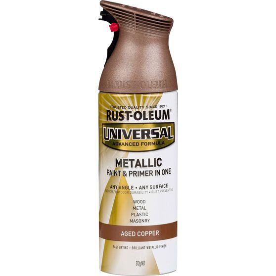 Rust-Oleum Aerosol Paint Universal - Aged Copper, 312g, , scaau_hi-res