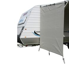 Camec Caravan Privacy Screen 2m x 1.8m End, , scaau_hi-res