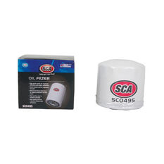 SCA Oil Filter SCO495 (Interchangeable with Z495), , scaau_hi-res