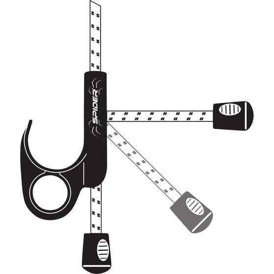 Spider Cord - Carabiner, 100cm, , scaau_hi-res