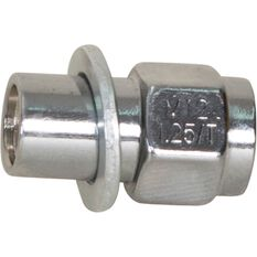 Calibre Wheel Nuts, Shank, Chrome - MN12125, 12mm x 1.25mm, , scaau_hi-res