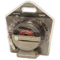 Amplifier Wiring Kit - 4 Channel, 8 Gaug, , scaau_hi-res