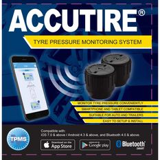 Tyre Pressure Monitoring System - 2 Pack, Bluetooth, , scaau_hi-res