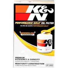 K&N Wrench Off Performance Gold Oil Filter  HP-3002 (Interchangeable with Z24), , scaau_hi-res