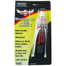 DynaGrip Weatherstrip and Trim Adhesive - 50mL, , scaau_hi-res