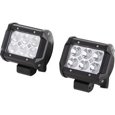 Enduralight Driving Light Kit - LED, 18W, 2 Pack, , scaau_hi-res