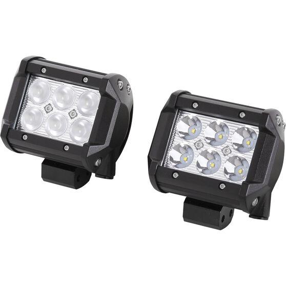 Enduralight Driving Light Kit - LED, 18W, 2 Pack, , scaau_hi-res