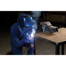 Cigweld Adjustable Auto Shade Welding Helmet - Shade 9-13, Blue, , scaau_hi-res