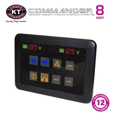 KT Cable - Switch Panel, Touch, 8 Way, 160amp, 12V, , scaau_hi-res