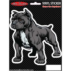 Hot Stuff Sticker - Pitbull Portrait, Vinyl, , scaau_hi-res