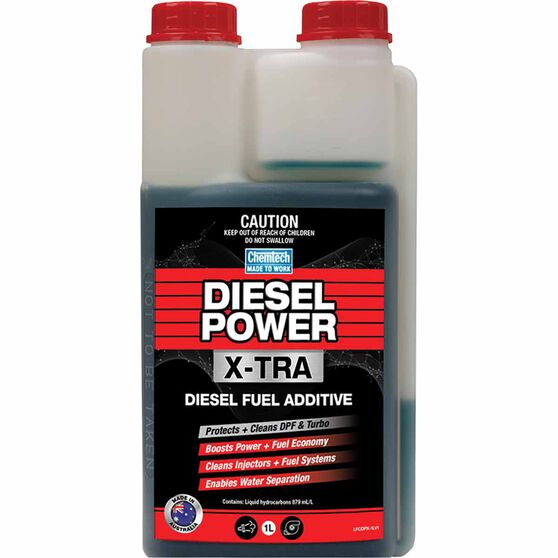 Chemtech Diesel Power Xtra Fuel Additive 1 Litre, , scaau_hi-res
