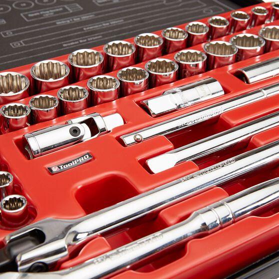 ToolPRO Socket Set - 1 / 2 inch Drive, Metric / Imperial, 40 Piece, , scaau_hi-res