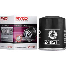 Ryco Syntec Oil Filter Z411ST (Interchangeable with Z411), , scaau_hi-res