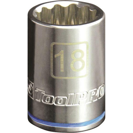 "ToolPRO Single Socket 1/2"" Drive 18mm, , scaau_hi-res"