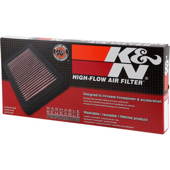 K&N Air Filter - 33-2114 (Interchangeable with A1477), , scaau_hi-res
