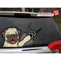 WiperTag Rear Window Blade Cover - Pug Dog, , scaau_hi-res
