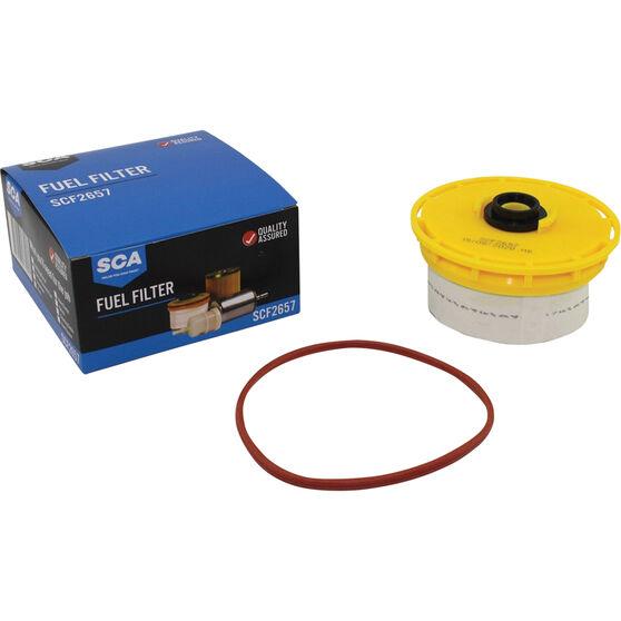 SCA Fuel Filter - SCF2657 (Interchangeable with R2657P), , scaau_hi-res