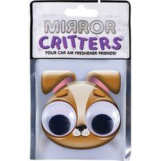 Mirror Critter Air Freshener - Terrior Dog Black Night, , scaau_hi-res