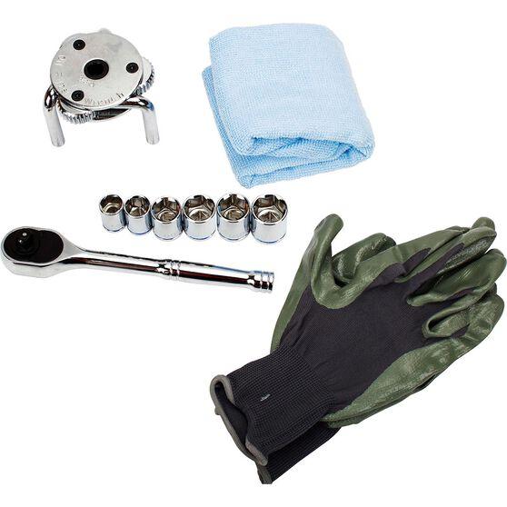 ToolPRO Oil Change Tool Kit 8 Piece, , scaau_hi-res