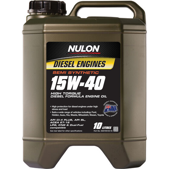 Semi Synthetic High Torque Diesel Oil - 15W-40, 10 Litre, , scaau_hi-res