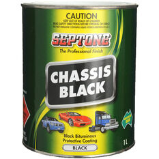 Septone Chassis Paint - Black, 1 Litre, , scaau_hi-res
