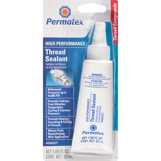 Permatex High Performance Thread Sealant - 50mL, , scaau_hi-res